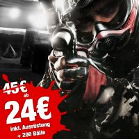 Herbst Special - 4 Std. Paintball ab 24€